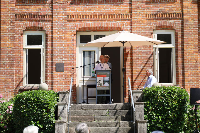 Lesung Jan Christophersen 27.06.21 / Fotografin: Gaby Rennert
