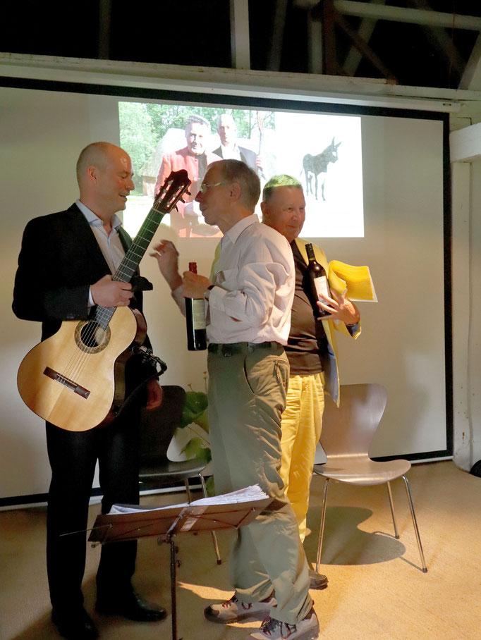 Lesung Thomas Schweikert/Arne Wolf  Seekamp 11.08.19     Fotograf: Martin Mokrus