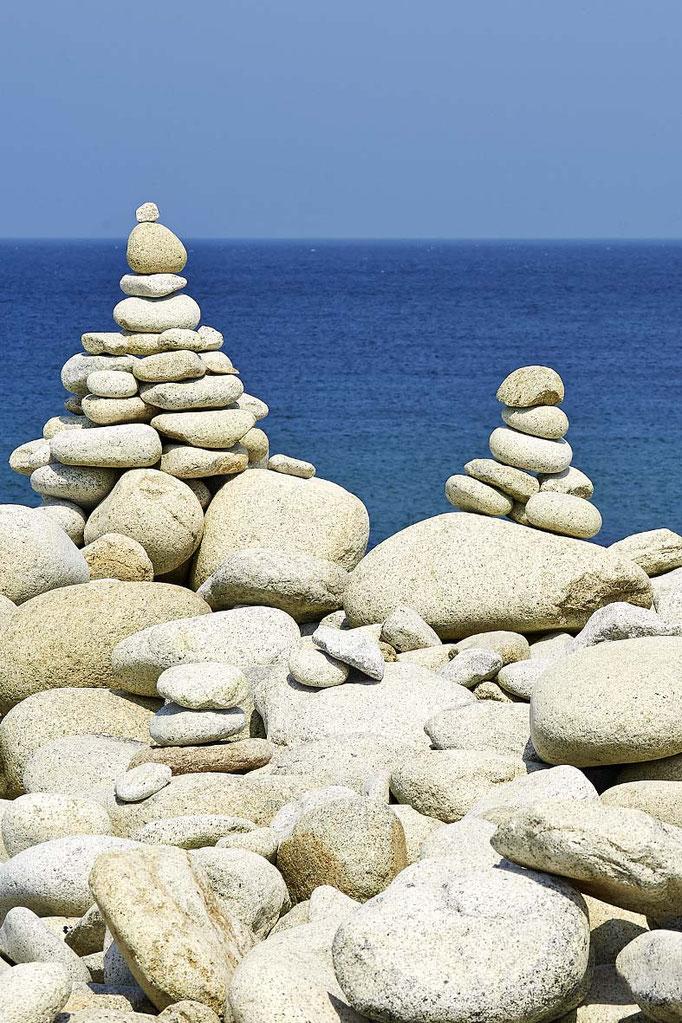 Strandsteine Bretagne