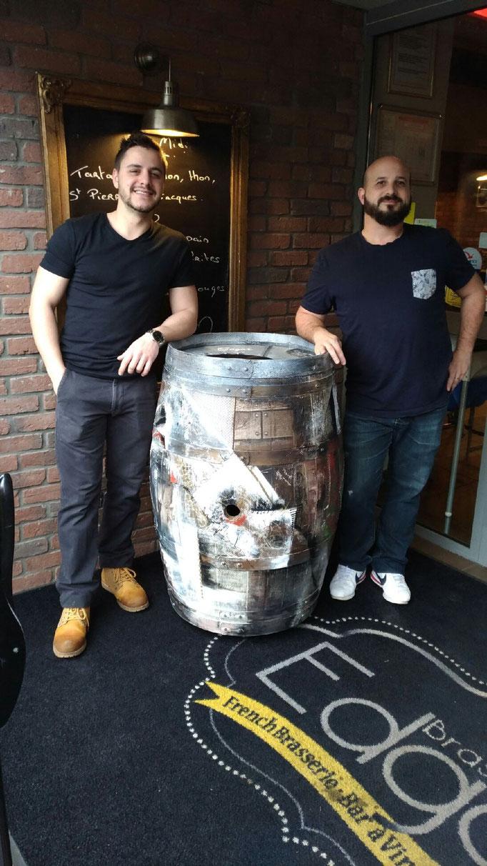 Alex et Thomas Brasserie Edgar
