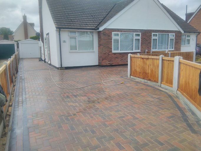 driveways and brickwork