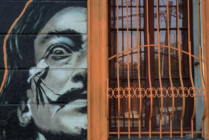 Salvador Dali Mural, Bellavista, Santiago de Chile