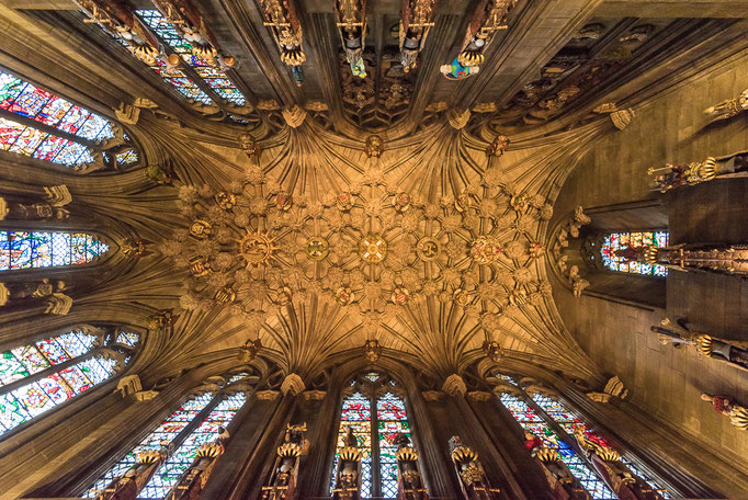 Thistle Chapel, St Giles' Cathedral, High Kirk of Edinburgh