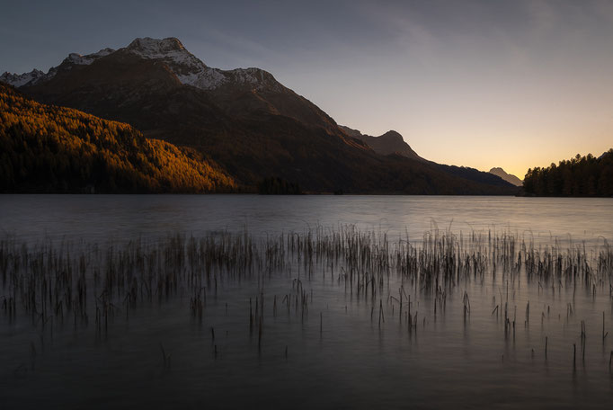 Lake Sils, Grisons, Silsersee, Graubünden