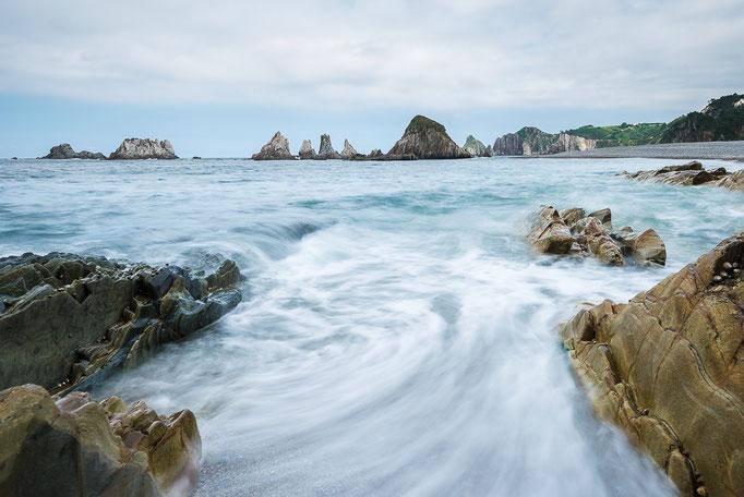 Playa de la Gureiúa, Asturias, Spain