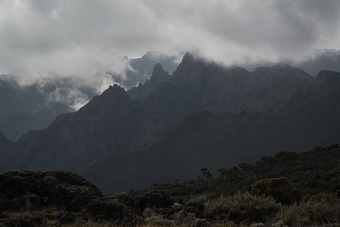 Shira Plateau, Kilimanjaro, Kilimandscharo