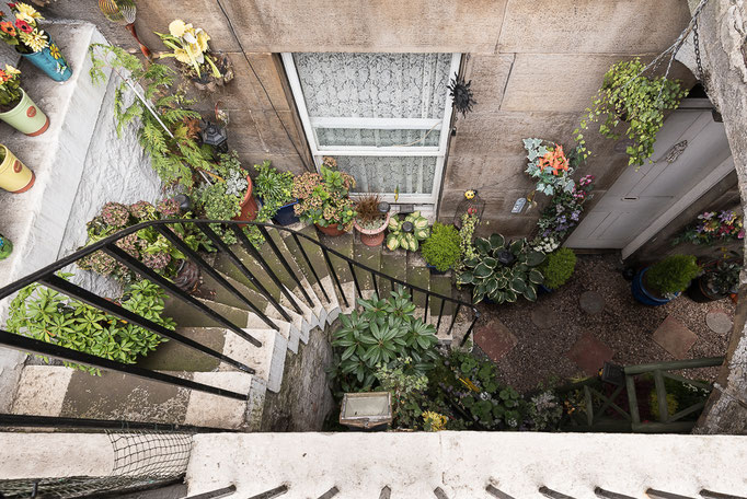 Spiral Stairs, Edinburgh