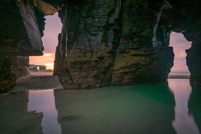 Praia das Catedrais, Galicia, Spain