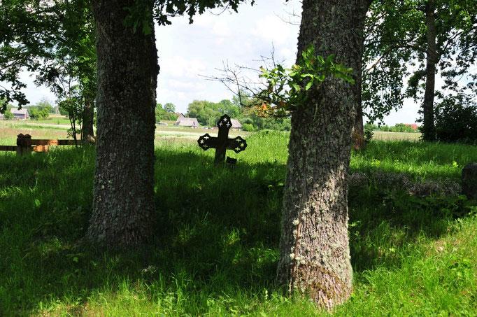 Deutscher Friedhof im Memeldelta