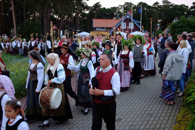 Prozession am Johannistag