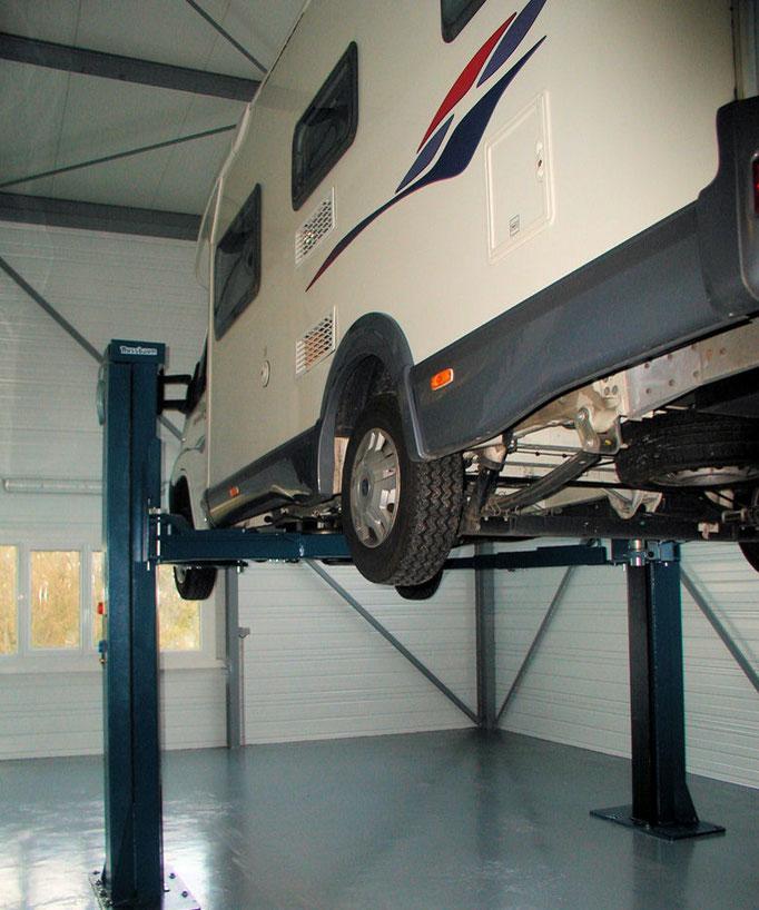 Atelier camping-car