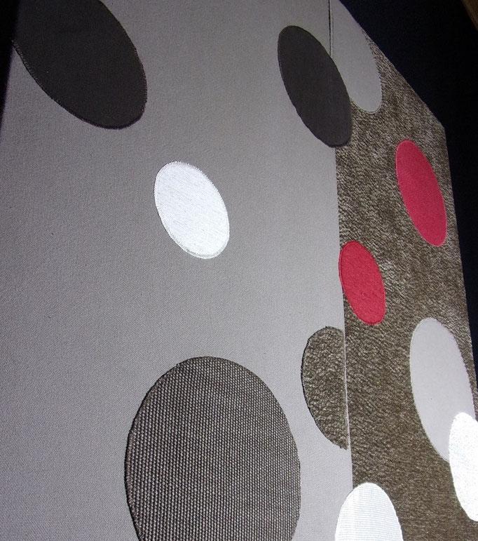 Réf : TI201907 - Tissus tapissier de récupération - 75 cm X 75 cm