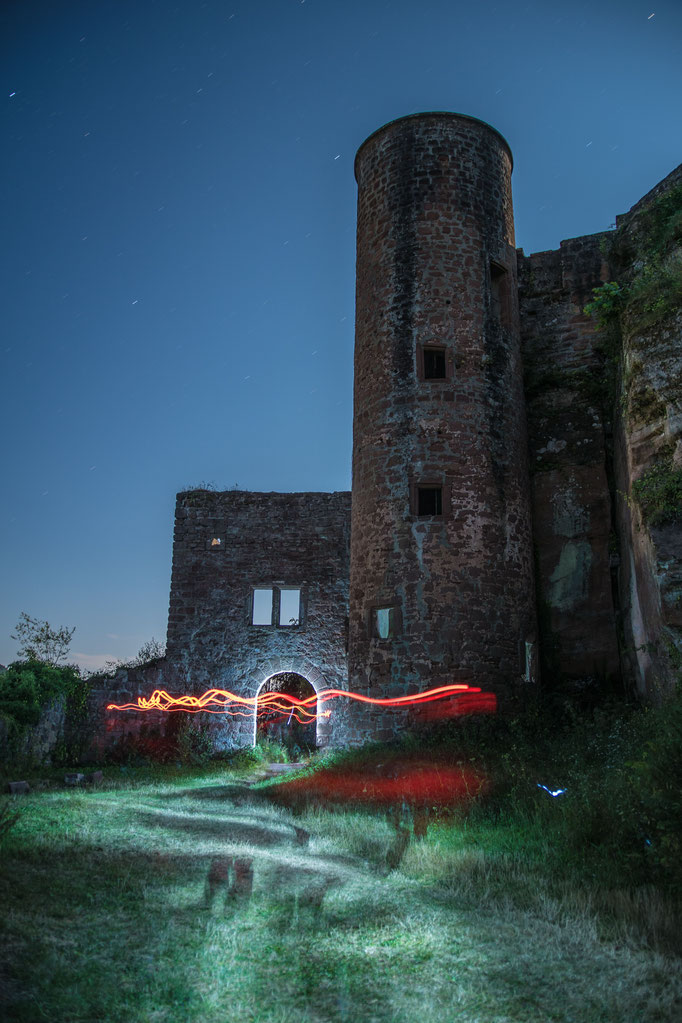"""""""Burggeister"""" auf der Ruine Neudahn"""