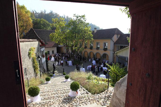 vom Luternauturm zum Schlosshof