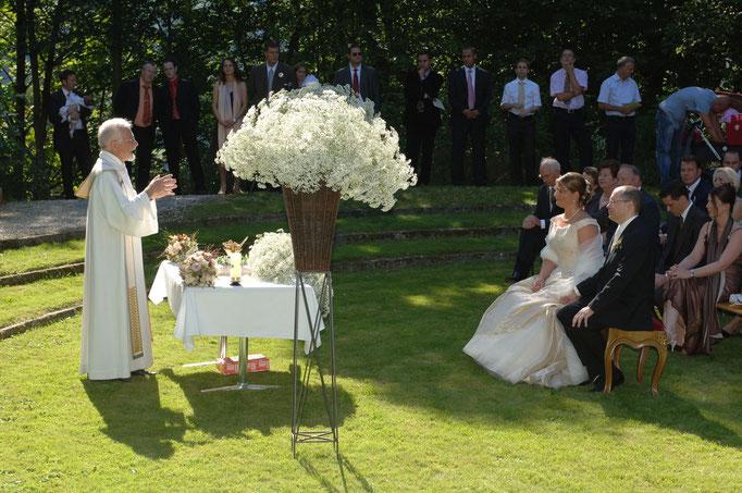Rondel im Schlossgarten - Hochzeit unter freiem Himmel
