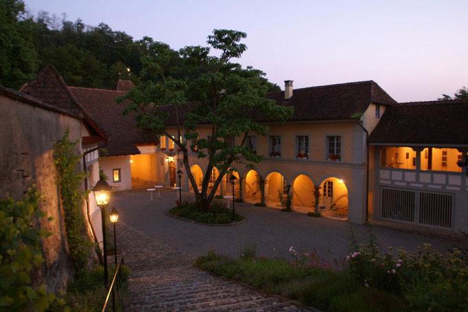 Schloss Schüür - Innenhof