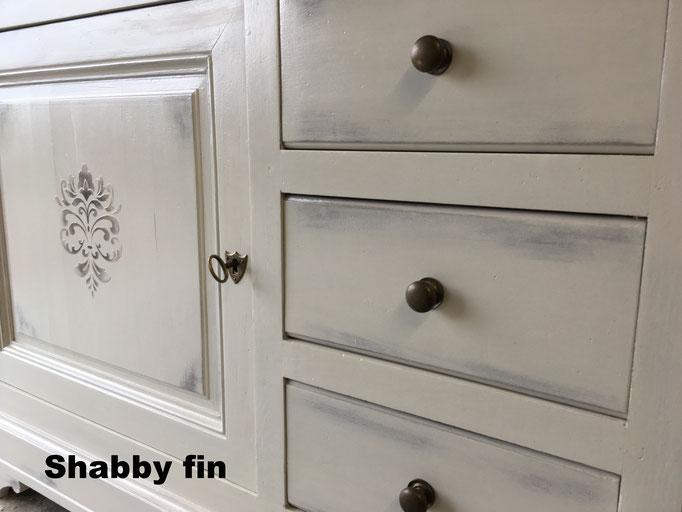 Shabby fin