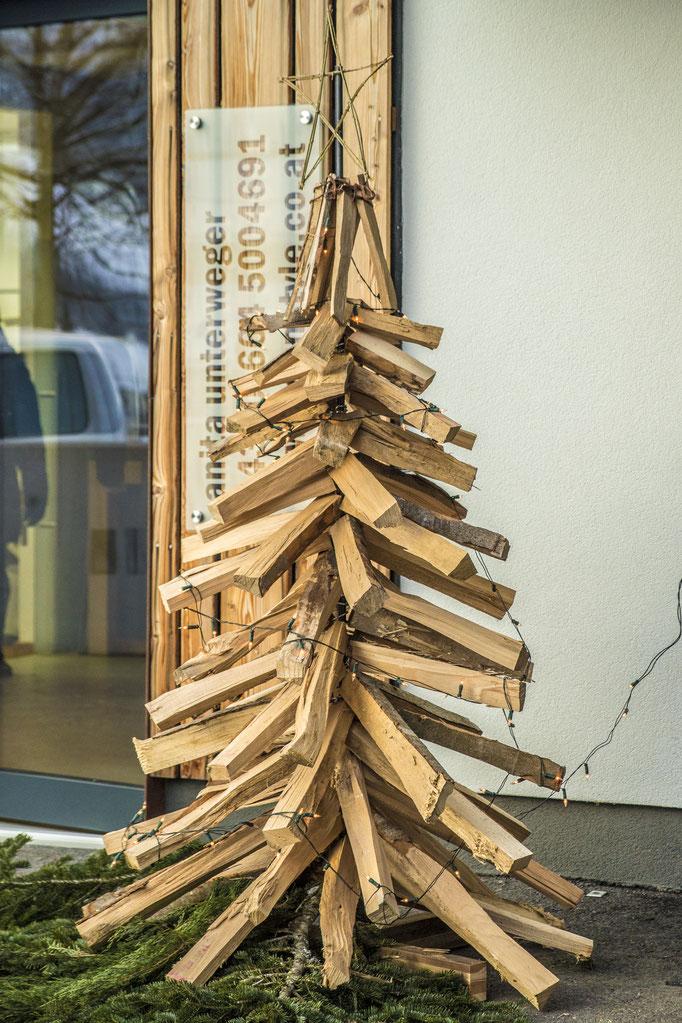 Baum aus Buchenholz