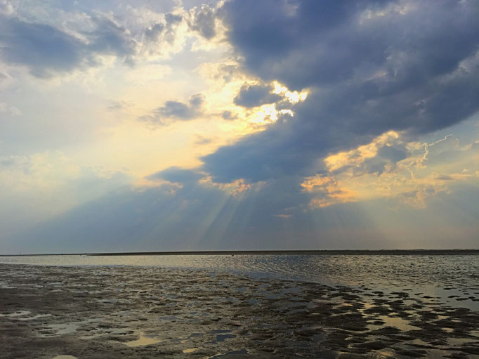 Meer, Himmel ... Langeoog (Foto @ bei demipress)