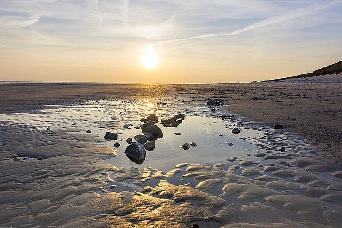 Küsst die Sonne das Meer oder das Meer die Sonne?