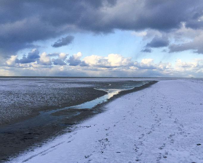Ist es Schnee oder doch Strand?