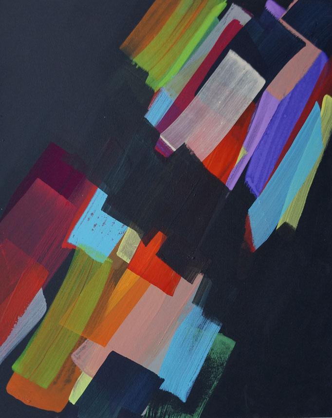 2017, Pigment/Acryl auf MDF, 40x50cm