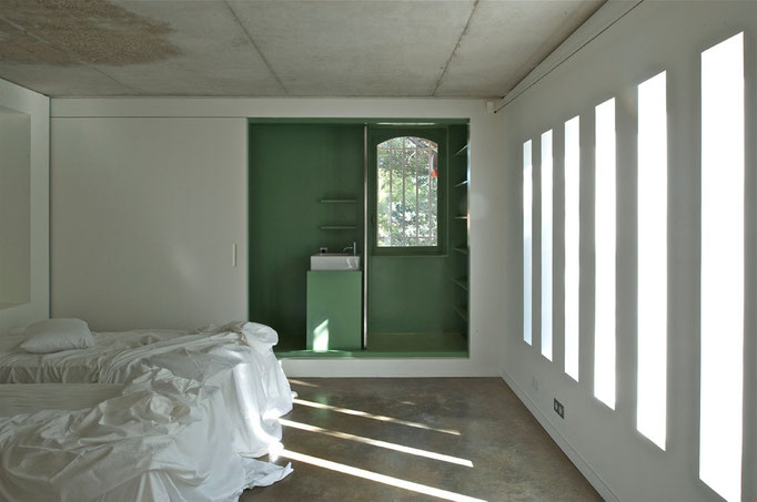 salle de bain cachée