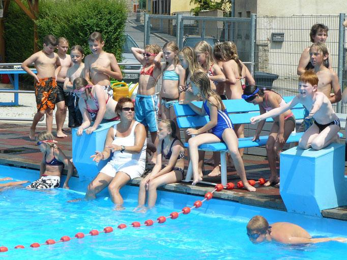 Schulschwimmen 2009 - Förderverein Schwimmbad Kirchheim e.V.