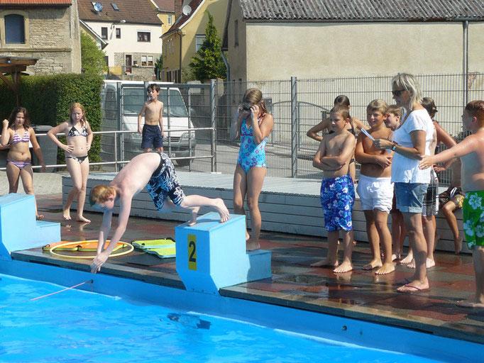 Schulschwimmen 2013 - Förderverein Schwimmbad Kirchheim e.V.