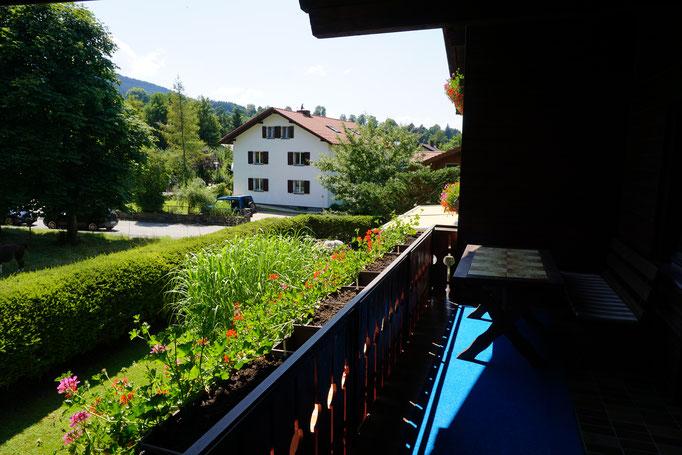 Balkon mit Westblick Fewo 4
