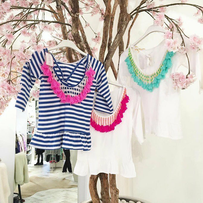 Indiana Baby Stripes blue/pink 2 sizes 59€