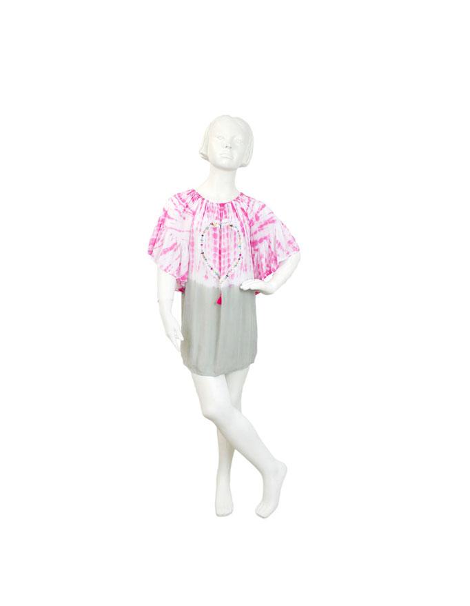 Dress Artic Heart, pink, Gr 4/6/8/10/12, 54,90€