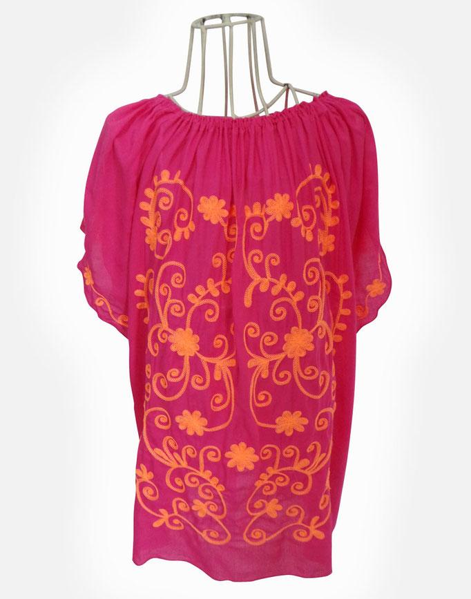Dress Flower, pink/coral in Gr 8/12  49€
