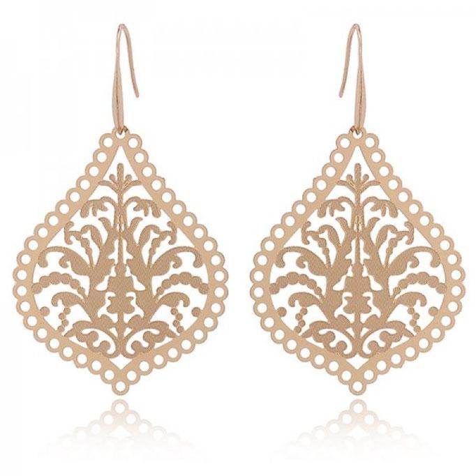 "Ohrringe ""Marrakech"" gold 18€"