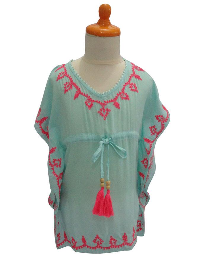 Dress Bali, aqua in Gr 6/10  47€
