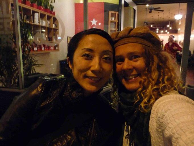 Maite & Erena Shimoda, San Francisco stopover