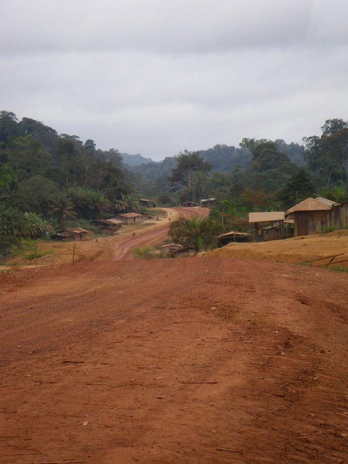 carretera a Tchibanga