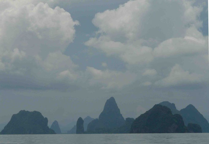 Marine mountains, Phang Nga Bay