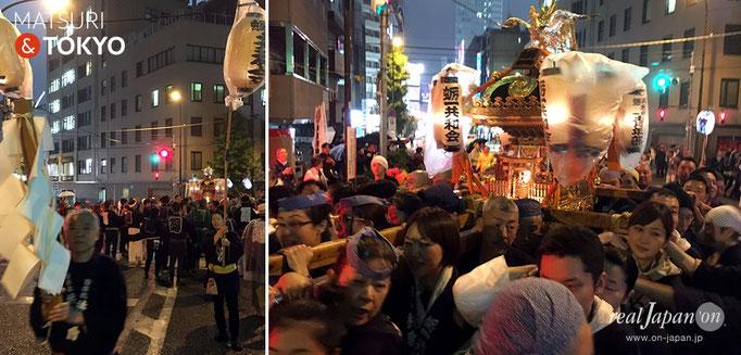 神田祭〈日本橋三・五地区〉五基神輿連合宮入渡御, 蛎一共和会