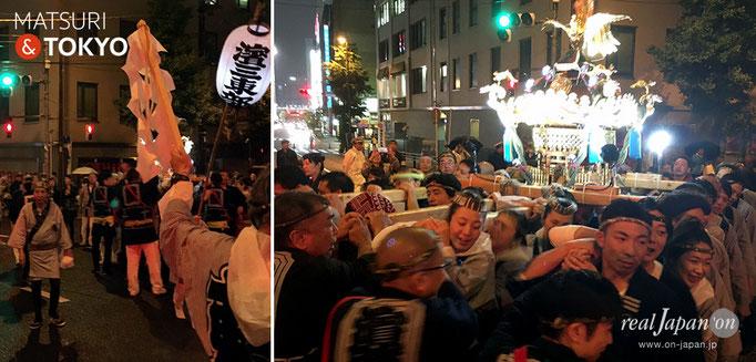 神田祭〈日本橋三・五地区〉五基神輿連合宮入渡御, 浜三東部町会