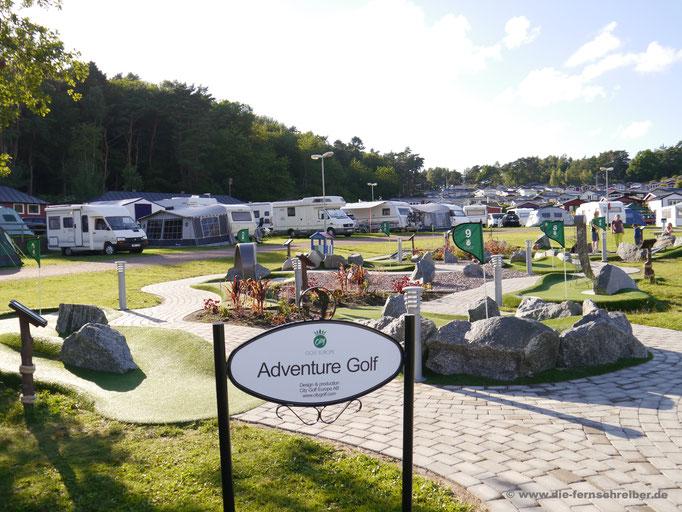 "Adventure Golf auf dem Campingplatz ""Liseberg"""