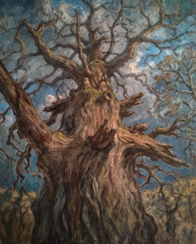 Der König des Waldes | Öl auf Leinwand | 80 x 100 cm