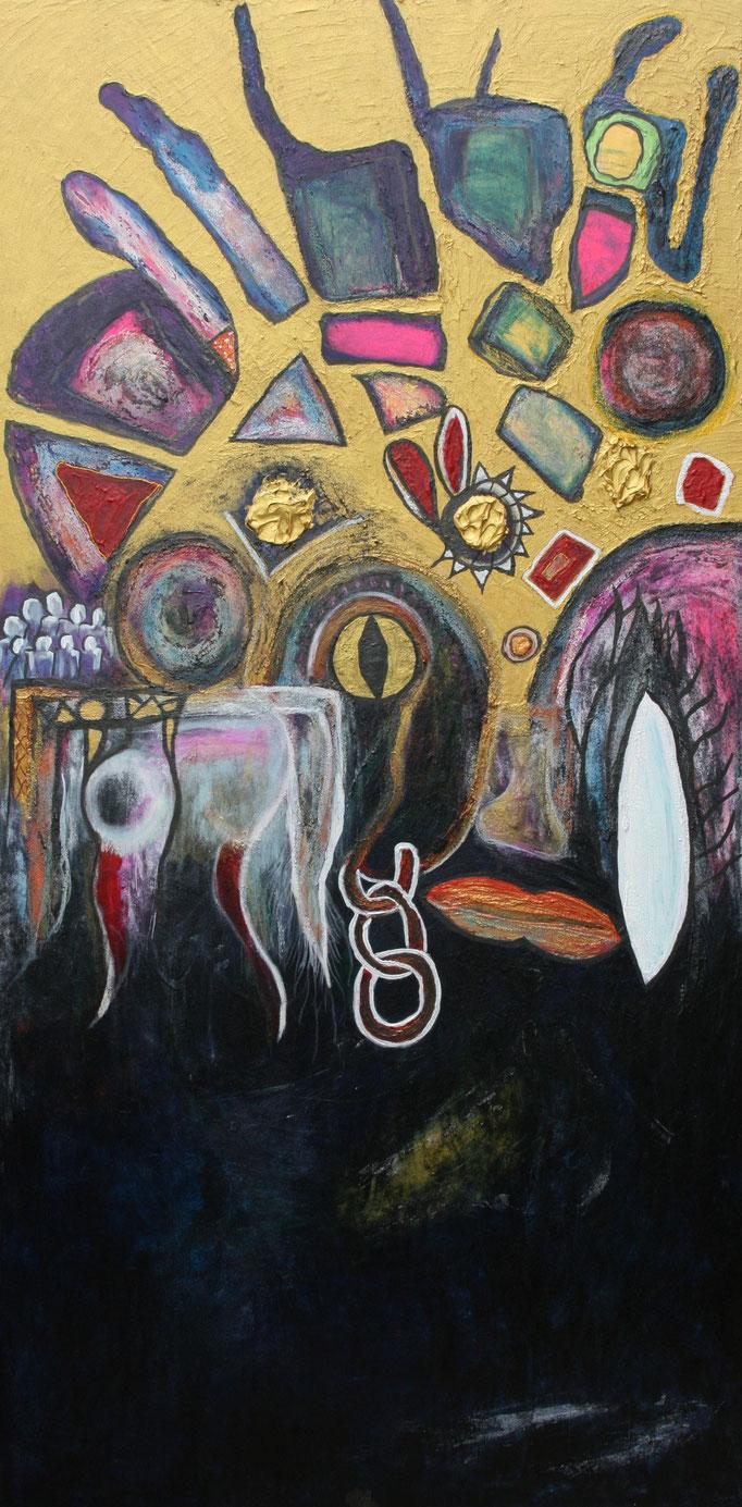 Symbolik (100 x 200 cm)