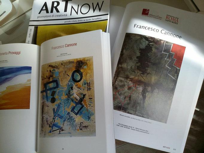 Rivista d' Arte Art Now bimestrale N.1  Promotore di creativita'