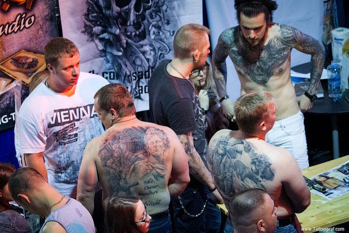 Tattoo Convention Moskau 2013 - Московская Тату Конвенция 2013