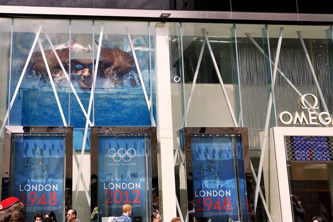 Omega Pavillon Olympische Spiele London 2012