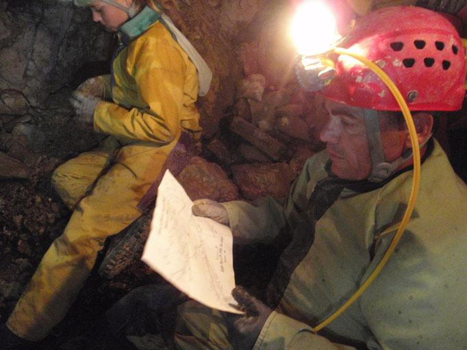 topographie de la grotte