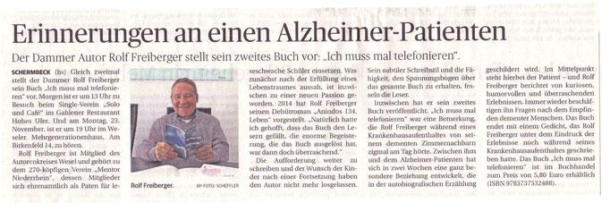 Rheinische Post, 14.11.2015