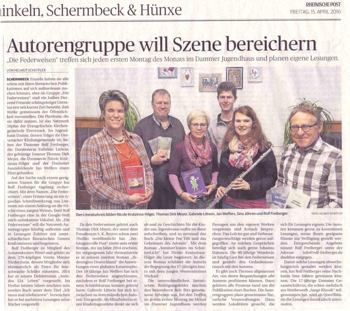 Rheinische Post, 15.04.2016