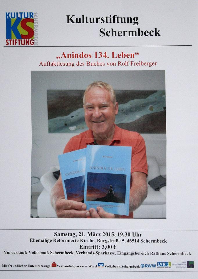 Plakat Kulturstiftung Schermbeck, 21.03.2015